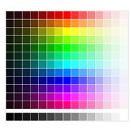 Paleta RGB