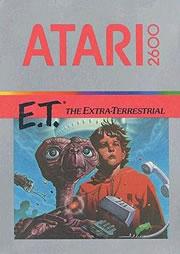 Portada del manual de E.T. para Atari 2600