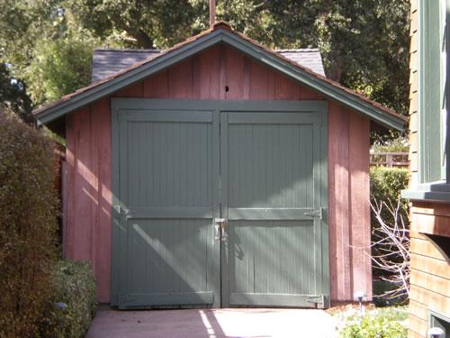 El garaje HP restaurado