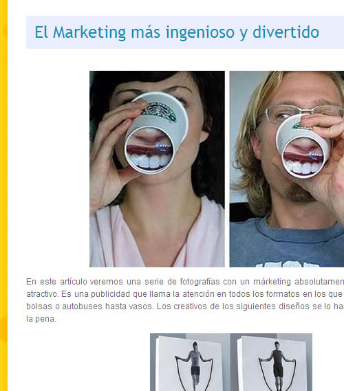 Captura de pantalla de Fistro.com