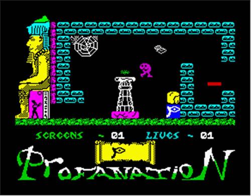 Pantalla inicial del videojuego