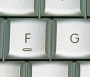 Relieve bajo la 'F'