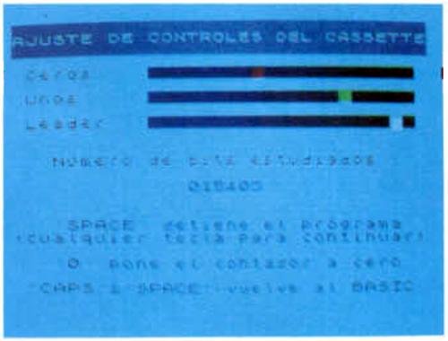 Software de ajuste (Revista MicroHobby, Especial Nº 5, 1986)