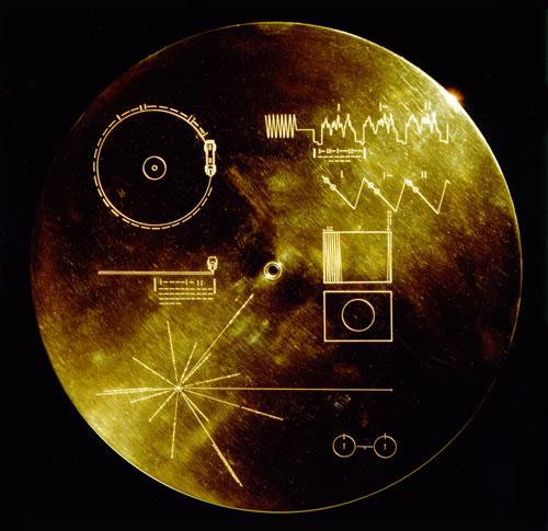 Disco de las Voyager; Cara B