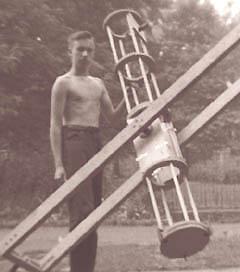 Primer telescopio a los 16