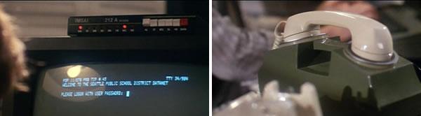 El IMSAI 212 A de la película 'Juegos de Guerra' ('WarGames') y su acoplador acústico