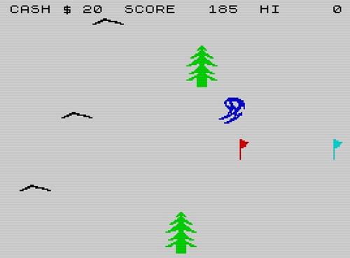 Pantalla de 'Horace goes skiing'