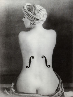 'Le violon d'Ingres' de Man Ray