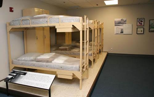 Habitación del refugio