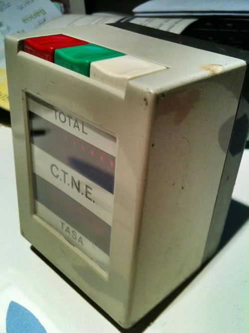 'Teletax' digital español de los noventa