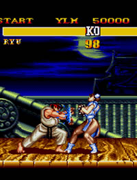 'Street Fighter II'