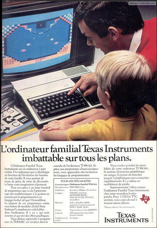 Texas Instruments TI-99/4A (clic para ampliar)