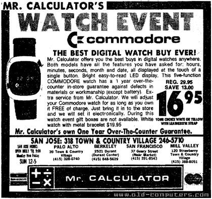 Reloj de Commodore