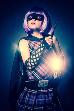 Alice como Hit-Girl