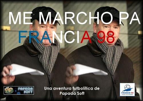 'Me marcho pa´ Francia 98'
