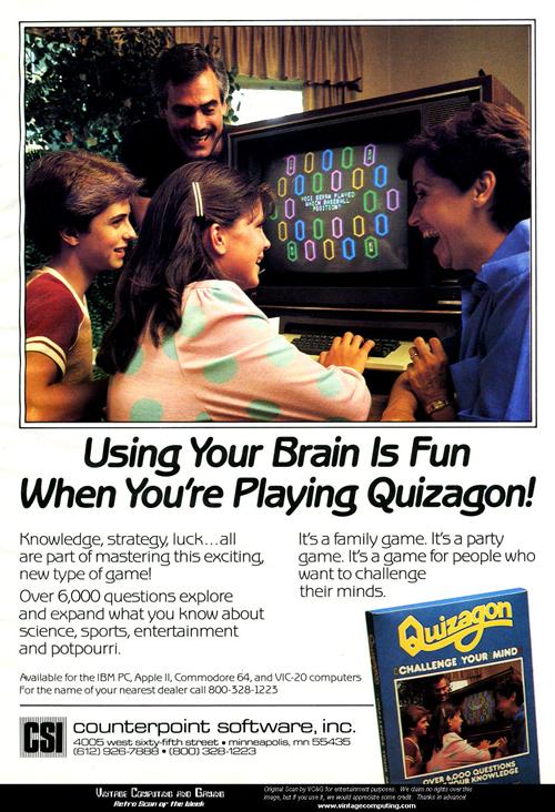 Publicidad de 'Quizagon' (clic para ampliar)