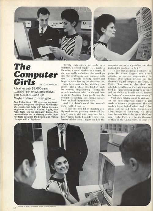 Cosmopolitan, abril de 1967 (clic para ampliar)