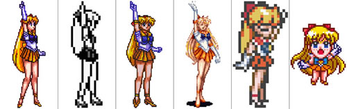 Sailor Venus (clic para ampliar)