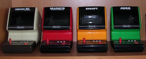 Las 4 Tabletop de Nintendo Game & Watch