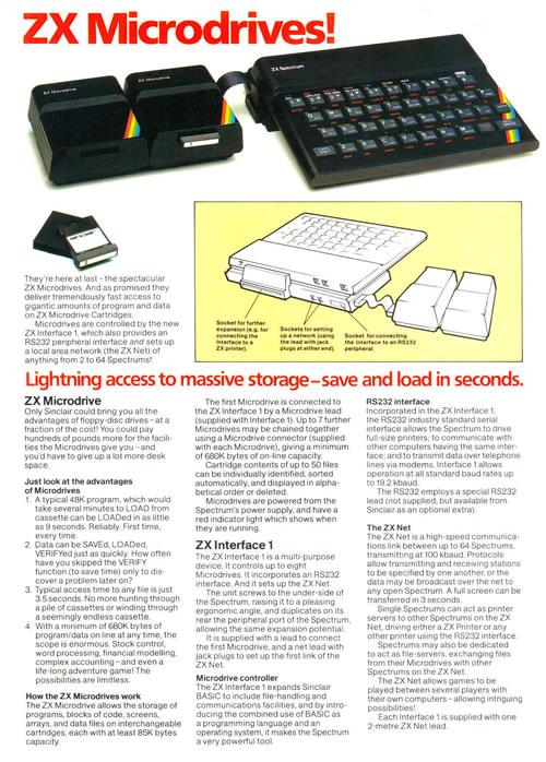Publicidad de Microdrive (clic para ampliar)