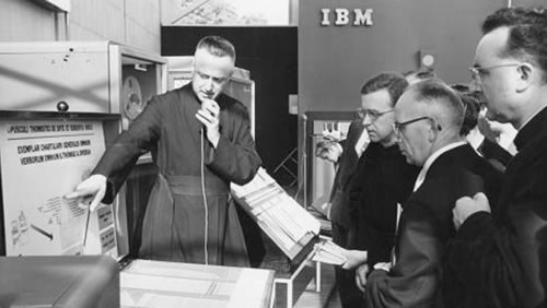 Estand de IBM en la Expo de Bruselas (1958)