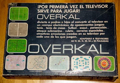 Caja de la Overkal (foto RetroMaquinitas)