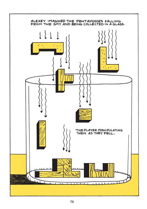 Página interior de la novela gráfica