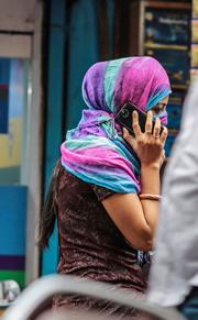 Smartphones en la India