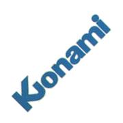 Logo de Konami en los ochenta