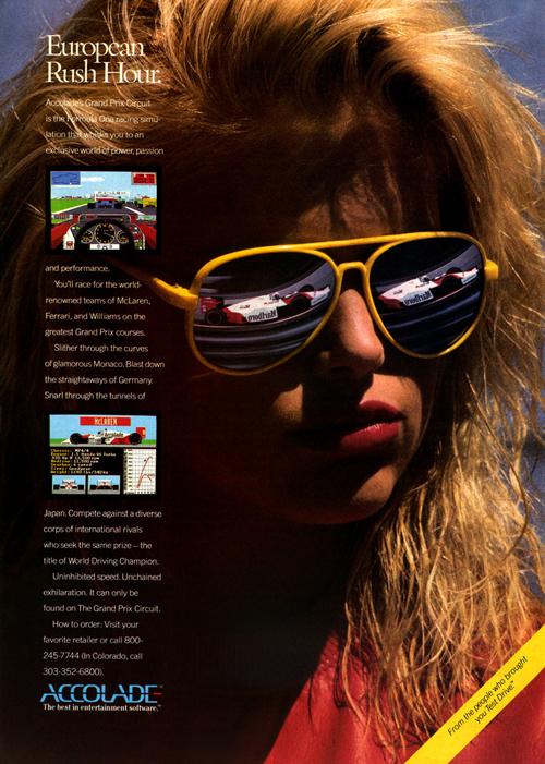 Publicidad de 'Grand Prix Circuit' (clic para ampliar)