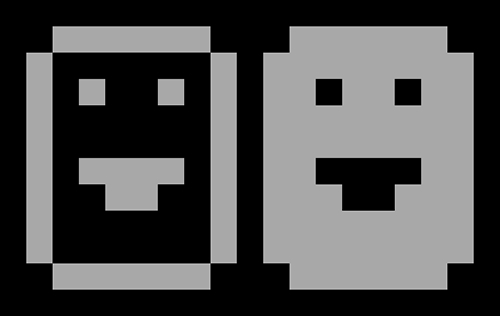 Smiley ASCII e inverso