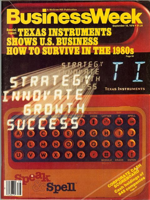 Speak & Spell en la revista 'BusinessWeek'