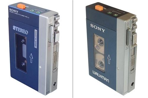 Sony TPS-L2 sin y con serigrafía 'WALKMAN'