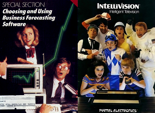 Revista 'Creative Computing' / Intellivision