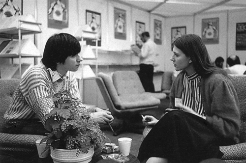 Anita Sinclair con Boris Schneider
