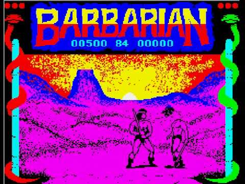 'Barbarian' (ZX Spectrum)