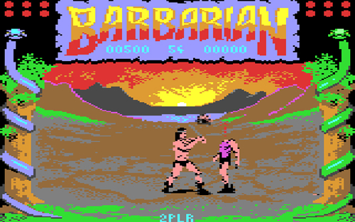 'Barbarian' (Commodore 64)