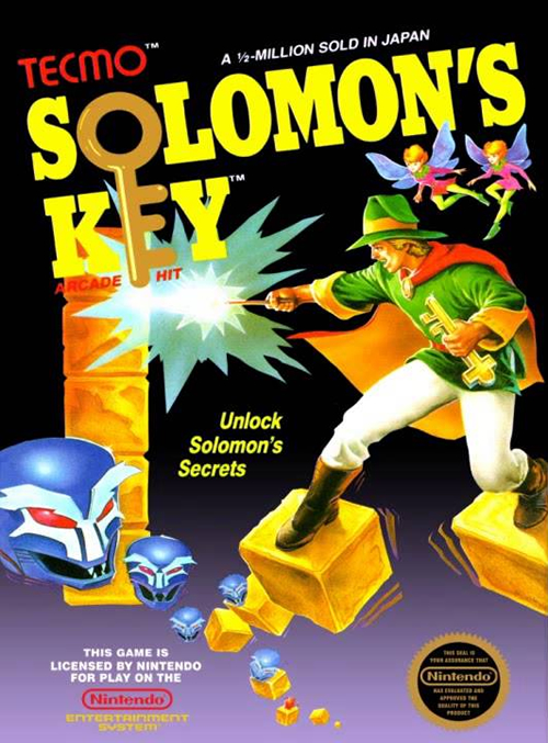 'Solomon's Key' (NES)