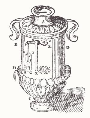 Expendedora de agua bendita