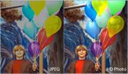 Diferencia entre una imagen JPEG y una de alta definición