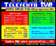 Teletexto de TVE