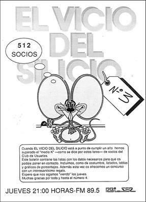 Boletín de El vicio del silicio