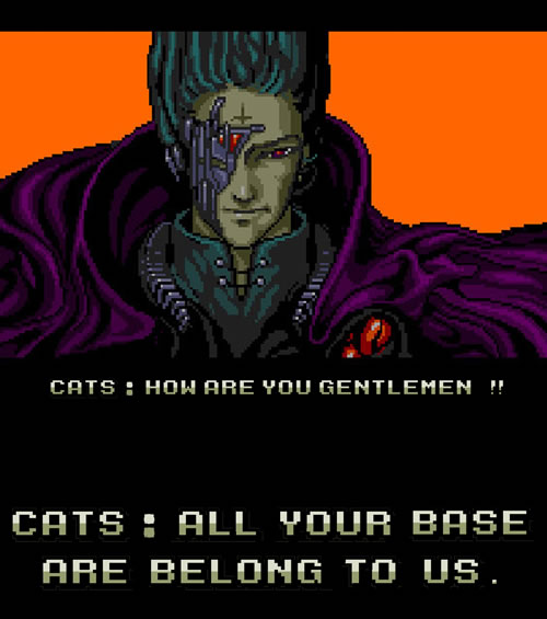 Meme AYBABTU: All your base are belong to us