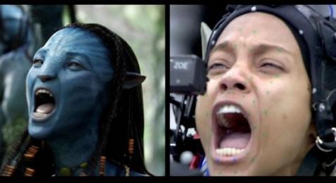 Captura de movimiento facial en 'Avatar'