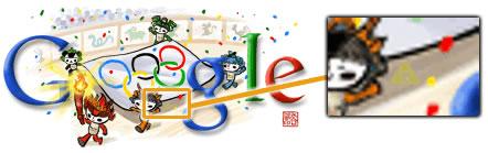 Doodle dedicado a los Juegos Olímpicos + Trifuerza