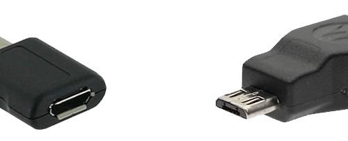 Conectores Micro USB Tipo B (macho y hembra)