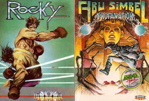 Portadas de 'Rocky' y 'Abu Simbel, Profanation'