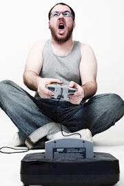 Crazy gamer