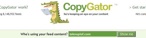 Buscando en CopyGator