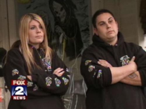 Jennifer y Scott Petkov (vía Fox 2 News)